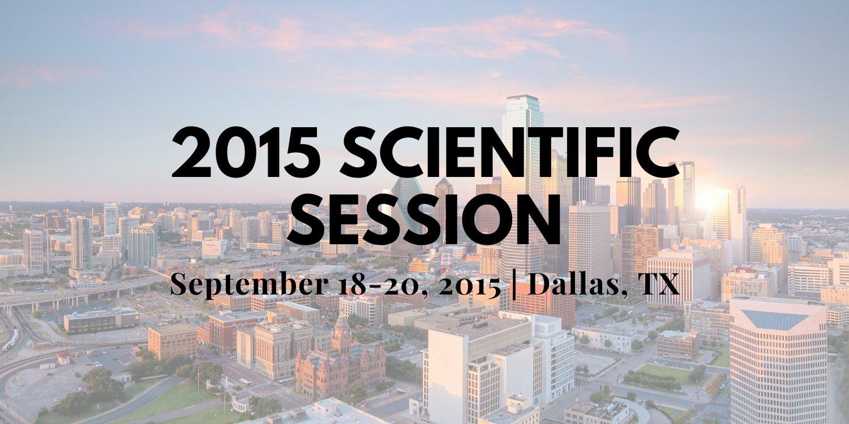 2015 Scientific Session Thumbnail