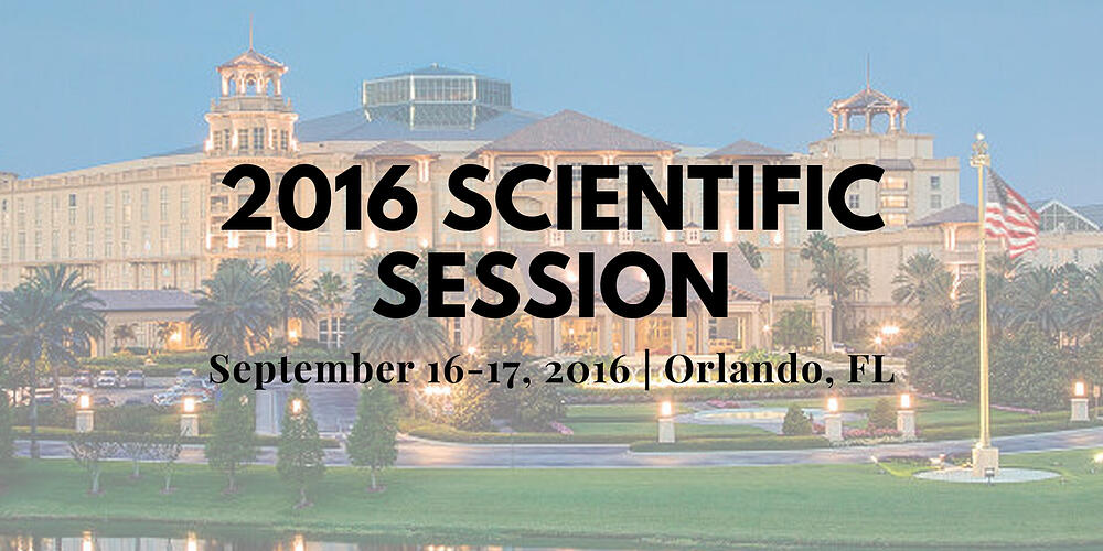 2016 Scientific Session Thumbnail