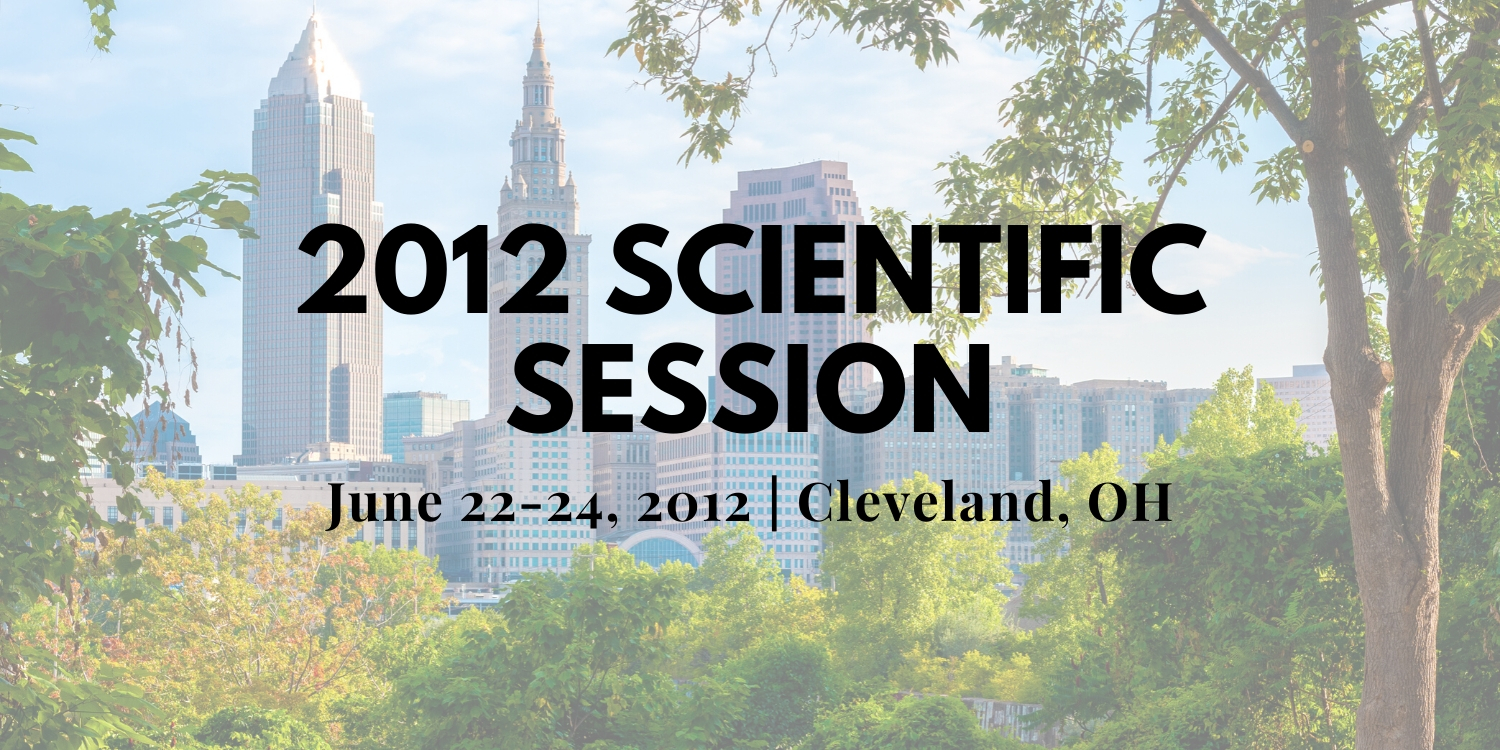 2012 Scientific Session Thumbnail
