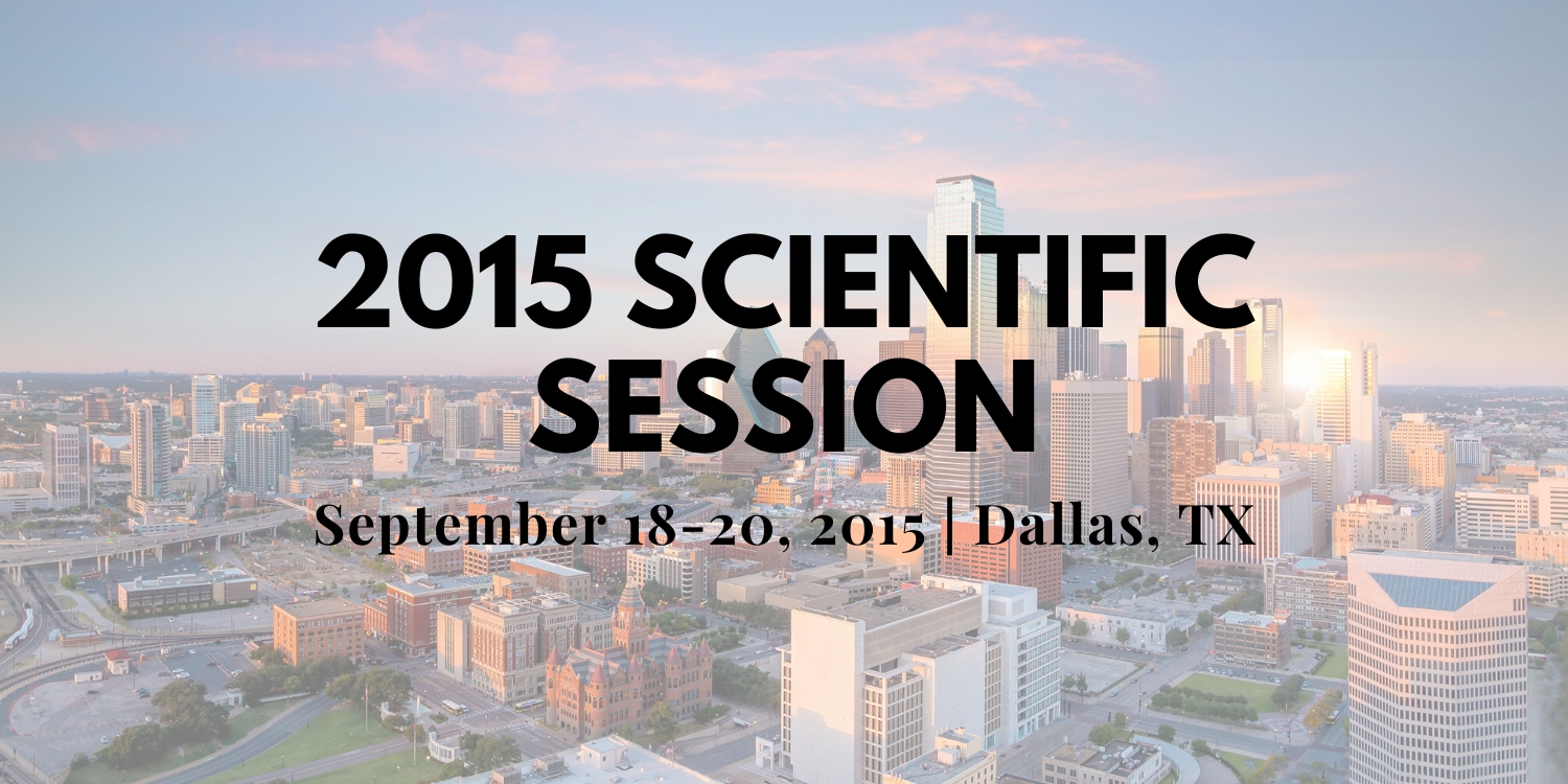 2015 Scientific Session Thumbnail