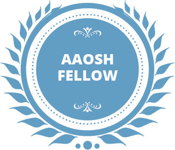 AAOSH Fellow - Badge