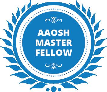 AAOSH Master Fellow - Badge